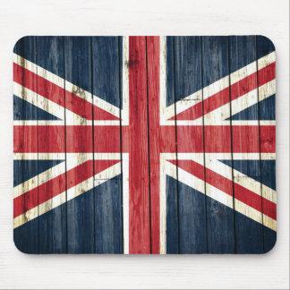 Beunruhigte Landesflaggen | Großbritannien Mousepad