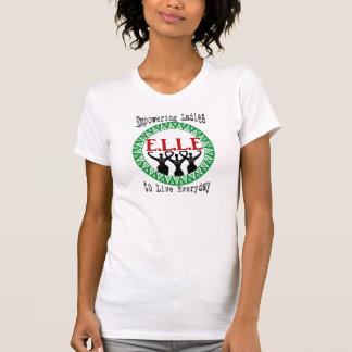 """Bevollmächtigung Damen, um zu leben tägliches"""" T-Shirt"""