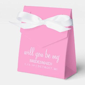 Bevorzugungs-Kasten - sind Sie meine Brautjungfer Geschenkschachtel