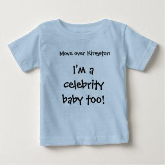 Bewegen Sie sich über Kingston, ich sind ein Baby T-shirt