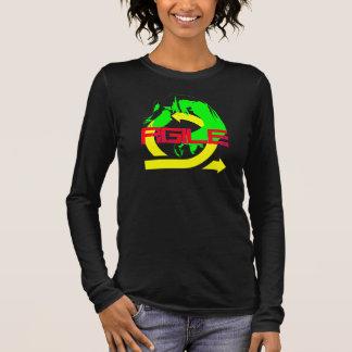 Beweglich Langarm T-Shirt
