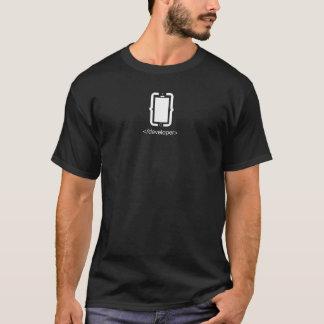Beweglicher Entwickler T-Shirt