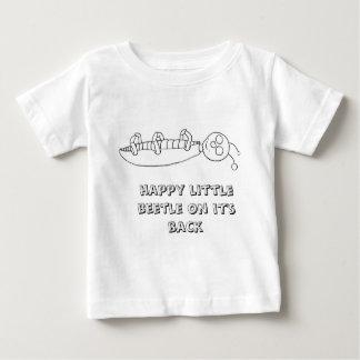 Beweglicher kleiner Käfer Baby T-shirt