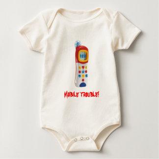 Bewegliches Problem Baby Strampler