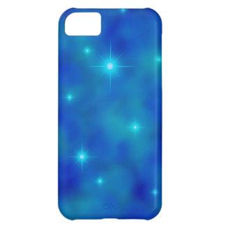 Bewölkte blauer Stern-Feld iPhone 5C Abdeckung iPhone 5C Hülle