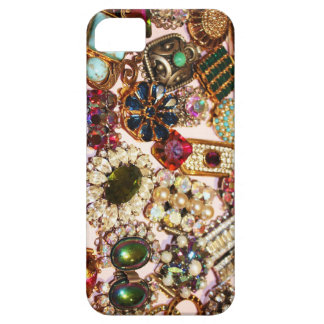 Bezaubernder Diamante Vintager Telefon-Kasten iPhone 5 Schutzhüllen