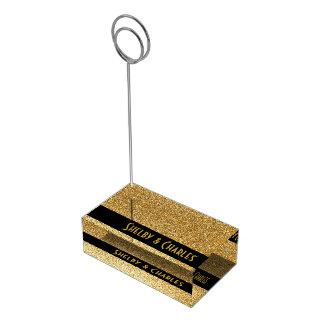 Bezaubernder GoldGlitter-kundenspezifischer