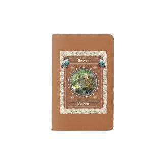 Biber - Erbauer-Notizbuch-Moleskin-Abdeckung Moleskine Taschennotizbuch