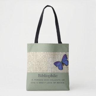 Bibliophile-Schmetterling-Hoch