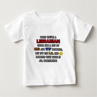 Bibliothekar… OMG WTF LOL Baby T-shirt