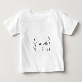 bibliothekarin buchhaendler buecherei bibliothek baby t-shirt