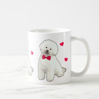 Bichon Frise illustrierte Kaffee-Tasse Kaffeetasse