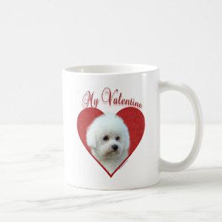 Bichon Frise mein Valentinsgruß Tasse