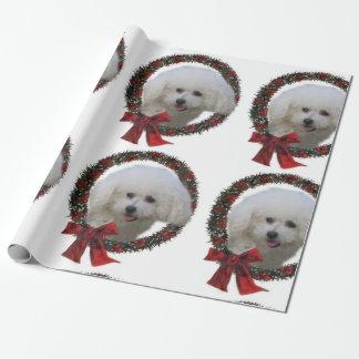 Bichon Frise Weihnachten Geschenkpapier