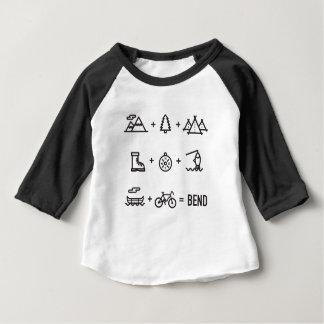 Biegungs-Oregon-Tätigkeits-Gleichung Baby T-shirt