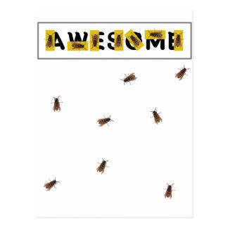 Biene fantastisch postkarte