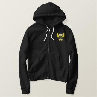 Biene gestickt bestickter hoodie