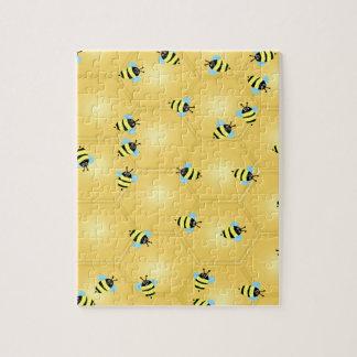 Bienen, die Puzzlespiel summen Puzzle