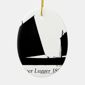 Bier 1881 Lugger - tony fernandes Keramik Ornament