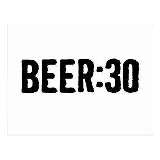 Bier: 30 postkarte