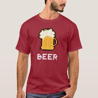 Bier-Pixel-Ikonen-T - Shirt