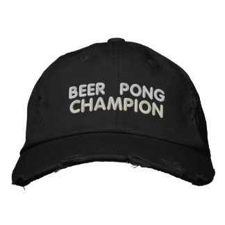 Bier Pong Meister Bestickte Baseballcaps