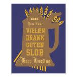 Bier-Probieren-Einladung