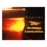 Bier-Probieren oder Geburtstags-Party Einladung