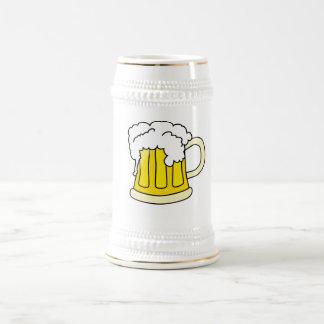 Bierkrug mit Bier