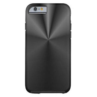 Biese und Rolle: Gebürstetes Metall Tough iPhone 6 Hülle