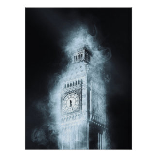 Big Ben, Westminster-Palast, London England Poster