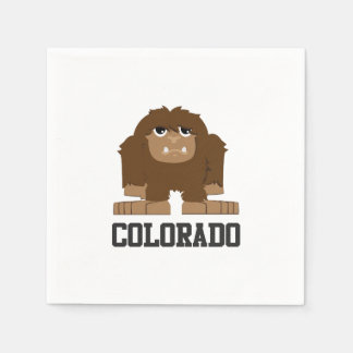 Bigfoot Colorado Serviette