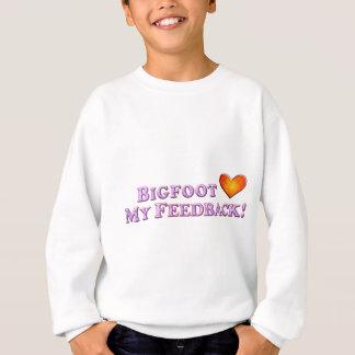 Bigfoot-Lieben mein Feed-back - grundlegend Sweatshirt