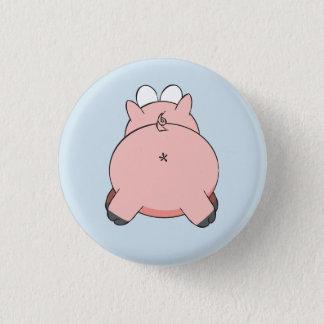 Biggy Piggy Rückseiten-Abzeichen Runder Button 3,2 Cm