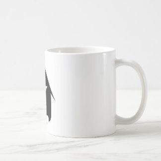 Bilden Sie sich vom Vase, der von 2 Gesichtern Tasse