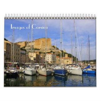 Bilder von Korsika-Kalender Wandkalender