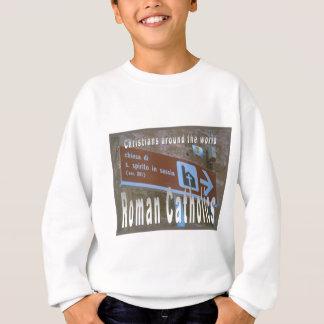 Bildung, Religion, römische Katholische weltweit Sweatshirt
