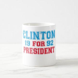 Bill Clinton 1992 Kaffeetasse