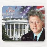 Bill Clinton - 42. Präsident der US Mauspads