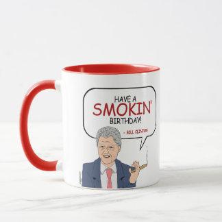 Bill Clinton-Gruß - haben Sie einen Smokin Tasse