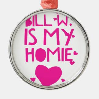 Bill W Homeboy-Stipendium OM Sitzungen Silbernes Ornament
