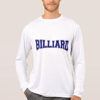 Billard-Hochschulart T-Shirt