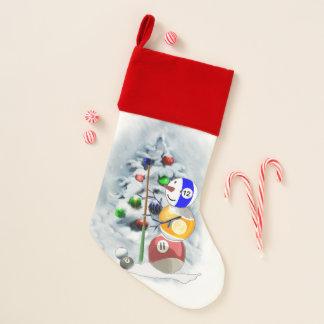 Billard-Liebhaber-Weihnachten Weihnachtsstrumpf
