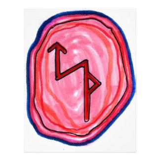 Bindungs-Rune für Geschäftserfolg 21,6 X 27,9 Cm Flyer