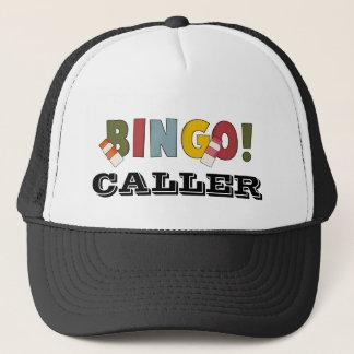 Bingo-Anrufer-Hut Truckerkappe