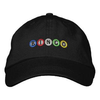 Bingo-Bälle Bestickte Baseballkappen