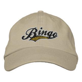 Bingo-beruflicher gestickter justierbarer Hut Baseballmütze