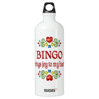 Bingo-Freude Aluminiumwasserflaschen