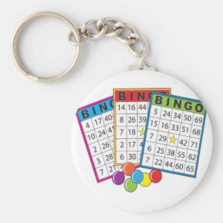 Bingo-Karten Schlüsselanhänger