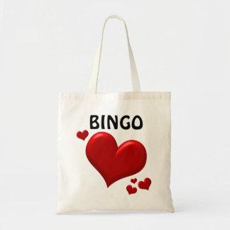 Bingo-Liebe-Taschen-Tasche Tragetasche